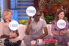 Martha Stewart, Snoop Dogg, And Anna Kendrick Played Never Have I Ever And It's Hilarious