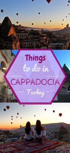 Cappadocia is on everyone's bucket list, and it definitely should be! This heavenly place in Turkey has it all! Float in hot air balloons and eat Turkish food all day long! Find out more things to do here