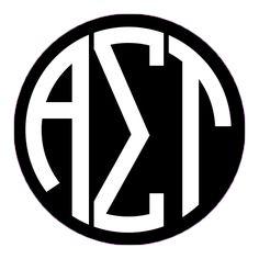 #alphasigmatau #AΣT #monogram #love #tlam awesome graphic!!!