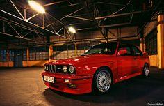 Circa 1989-1991 BMW E30 M3.