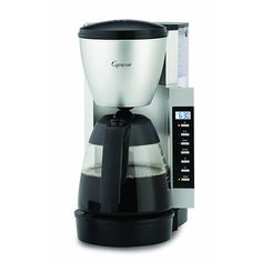 Jura Capresso Specialty Coffee Makers CM 200, Black/Silver Accents