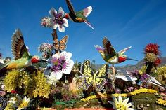 The 125th Rose Bowl Parade. Pasadena California 1/1/2014
