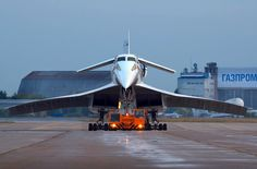 Aeroflot Tupolev being towed out for display during the International Air Show at Ramenskoye-Zhukovsky, August (Photo: Oleg V. Tupolev Tu 144, Concorde, Military Jets, Military Aircraft, Airplane Flying, Passenger Aircraft, Commercial Aircraft, Aircraft Design, Jet Plane