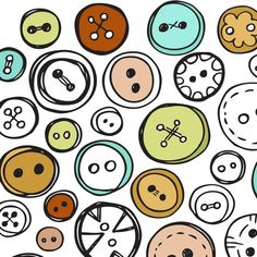 Buttons!  Art!