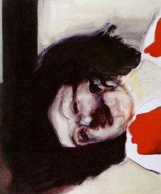 Dead Girl, 2002. Marlene Dumas nacida en 1953 en Sudáfrica.