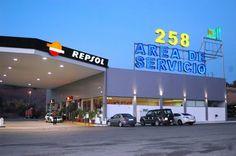 Area de Servicios 258  Restaurante, cafeteria, tienda, gasolinera, parking  www.area258.com