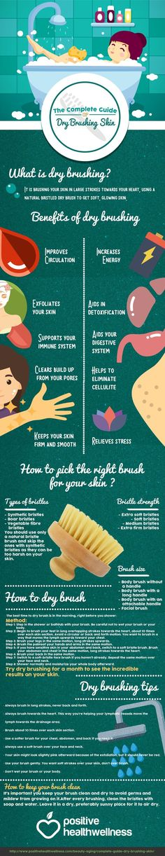 You can enjoy glowing and beautiful skin by brushing it daily. Dry brushing is an extremely simple technique that gives you immediate results | The Complete Guide To Dry Brushing