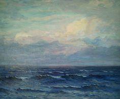 """Off the Massachusetts Coast"" (1912) artist Edwin Minot Dawes"