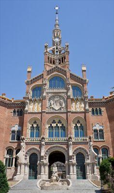 Barcelona Hospital de la Santa Creu i de Sant Pau 1