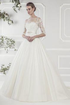 Wedding gown by Ellis Rose