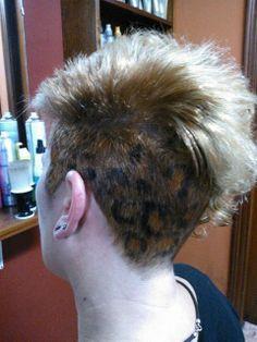 mechas leopardo