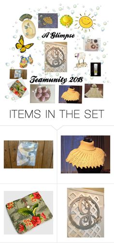 """""""A Glimpse"""" by karenglenne ❤ liked on Polyvore featuring art and vintage"""