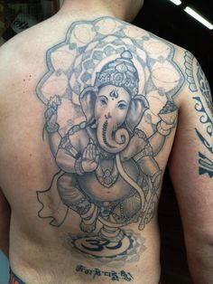 Ganesh Om Tattoo Simple Ganesha tattoo designs