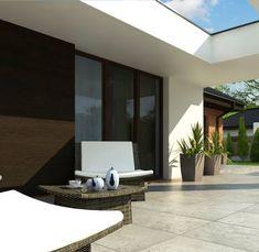 Z282 to wyjątkowy dom z kategorii projekty domów z czterema pokojami Modern House Plans, How To Plan, Mirror, Interior Design, Furniture, Home Decor, Environment, Projects, Design Interiors