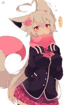 Best Moving Romance Novels to Read – World Of Games Anime Wolf Girl, Anime Girl Neko, Cool Anime Girl, Chica Anime Manga, Anime Chibi, Anime Love, Art Anime, Anime Art Girl, Anime Girls
