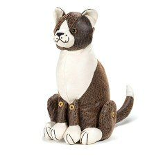 Bosley Cat Doorstop By Dora Designs