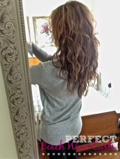 Beach Wave Curls