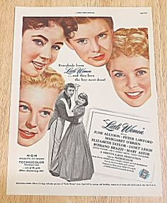 1949 Little Women With E. Taylor & J. Leigh