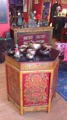 9 mejores im genes de mueble tibetano asia furniture y for Muebles tibetanos