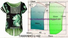 Patrones para fabricar prendas para sublimación. | Vectorizando y Compartiendo