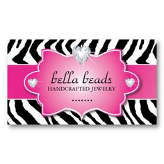 Zebra print cosmetology business card cosmetology zebra print zebra print cosmetology business card cosmetology zebra print and business cards reheart Gallery