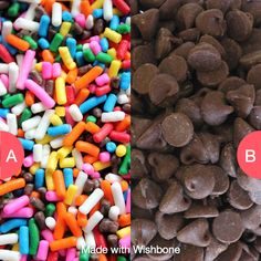 Sprinkles or Chocolate Chips? Click here to vote @ http://getwishboneapp.com/share/1235267