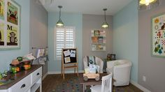 The little ones will love their activity room!