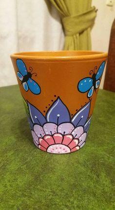 Flower Pot Art, Flower Pot Design, Clay Flower Pots, Flower Pot Crafts, Clay Pot Crafts, Clay Pots, Painted Plant Pots, Painted Flower Pots, Pop Up Flower Cards