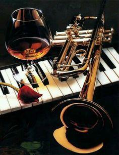 Well, being a jazz musician is not a rose garden.