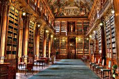 Strahov Monastery in Prague - a fantastic library well worth a visit