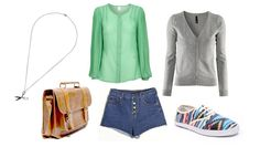 daily look - seventies shorts