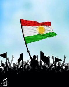 High my kurdistan flag ♡ ♥ ♡