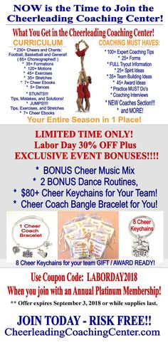 Cheerleading coaching center a pinterest collection by now is the time to join the cheerleading coaching center as there are limited time bonuses gotta love that if you are a cheerleading coach fandeluxe Gallery