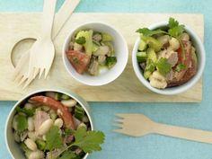 Italienischer Bohnen-Thunfisch-Salat