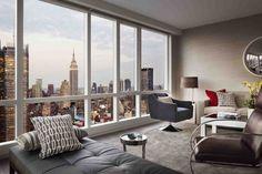 Interior elegant penthouse New york