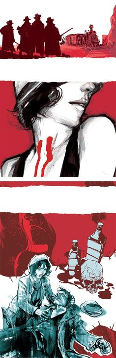 Comic Book Illustrations by Rafael Albuquerque