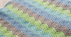 6-Day Kid Blanket This crochet pattern is available as a free download... Download Pattern: 6-Day Kid Blanket