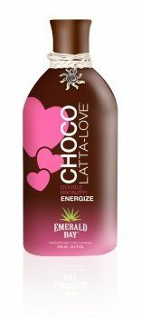 Emerald Bay Choco-Latta-Love 9 Oz by Emerald Bay. $15.99. Skin will drink in the sweet buzz from this creamy, delicious, double-shot bronzing blend and leave you dark and lovely, 9 oz Mocha Creme Fragrance