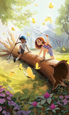 Lucas and max? I hope so Cartoon Drawings, Cartoon Art, Cute Drawings, Character Illustration, Children's Book Illustration, Creative Illustration, Character Art, Character Design, Timberwolf