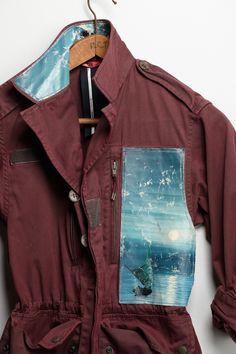 Still Life Army Jacket - Anthropologie
