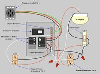 Light with Outlet 2way Switch Wiring Diagram Kitchen