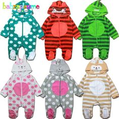 0-18Months/Autumn Winter Infant Girls Boys Rompers Newborn Clothing So – eosegal