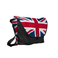 Shop UK Flag Union Jack messenger bag created by BluePlanet. Personalize it with photos & text or purchase as is! British Things, Uk Flag, Cute Bags, Union Jack, London Travel, Beautiful Bags, Harrods, Night Life, Bag Accessories