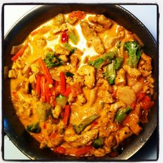My Thai red curry