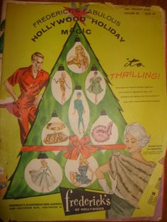 Vintage 1961 frederick's of Hollywood GLAMOUR Clothing Catalog - 47pages Hollywood Holiday Magic - Christmas Issue 64 vol 28 -1960s FASHION by PastPossessionsOnly on Etsy