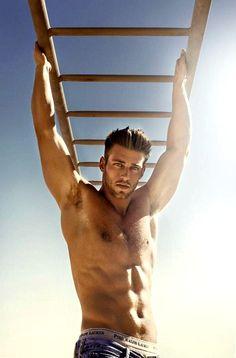 Garon/George (model Heath Hutchins)