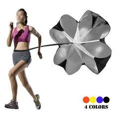 "New Arrival 56"" Speed Drills Training Resistance Parachute Umbrella Running Chute Soccer Football Training Power Tool"