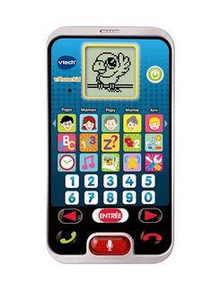 Smartphone pour enfant Vtech ! Si votre garçon de 2 ans veut faire comme papa ou maman, c'est le jouet parfait.