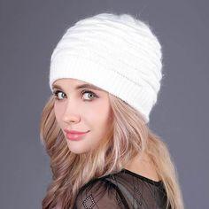 Bonnet Beanie Caps Solid Warm Winter - S