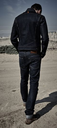 The Steadfast Selvedge Denim Jacket Cone Mills Denim | Brave Star Selvage
